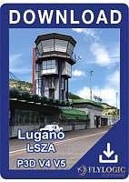 Airport Lugano P3D V4 V5
