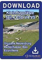 Kleinflugplätze Teil 4 P3D V4 V5